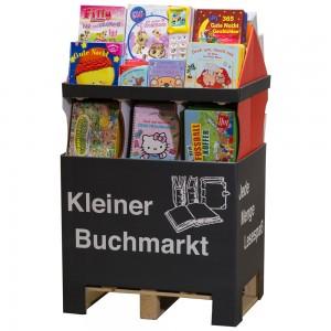 Display: Bücherhaus klein